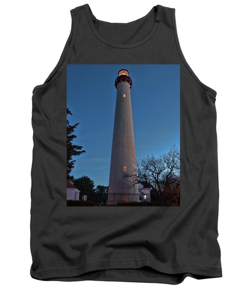 Cape May Lighthouse In Evening Tank Top