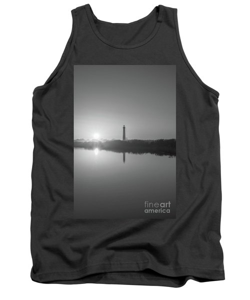 Cape May Reflections Bw Tank Top