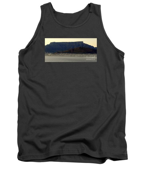 Cape Town Under Table Rock Tank Top by John Potts