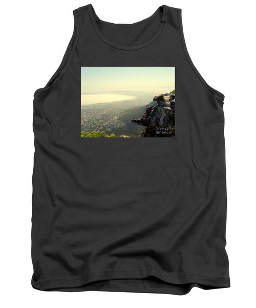 Cape Town View From Table Rock Tank Top by John Potts