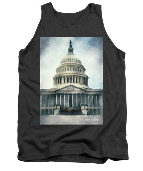 Capitol Building, Washington Tank Top