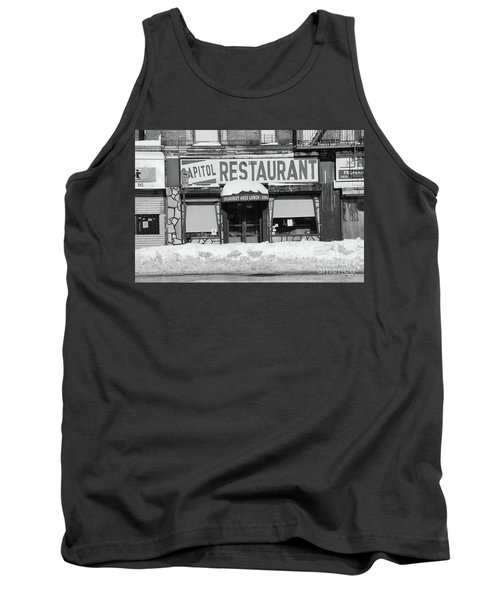 Tank Top featuring the photograph Capitol Winter by Cole Thompson