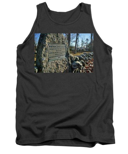 Captain John Locke Monument  Tank Top
