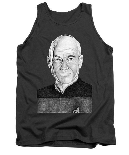 Captain Picard Tank Top
