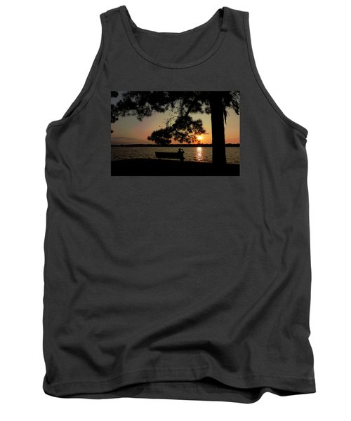 Capturing The Sunset Tank Top by Teresa Schomig