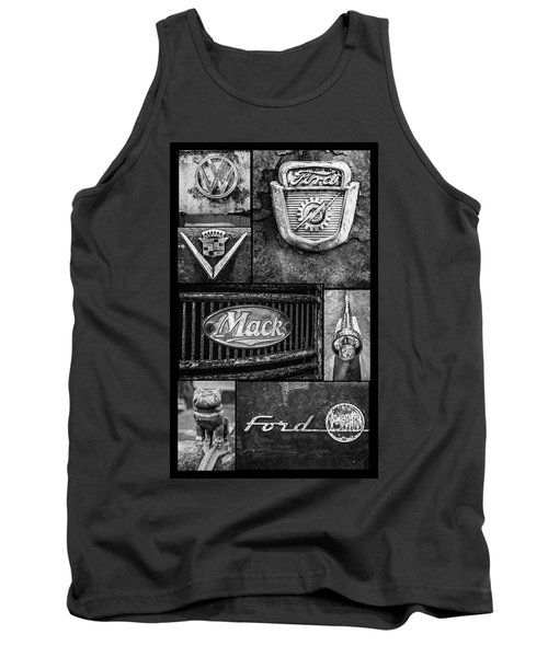 Car Emblems Tank Top