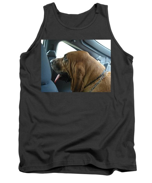 Car Ride Tank Top by Val Oconnor