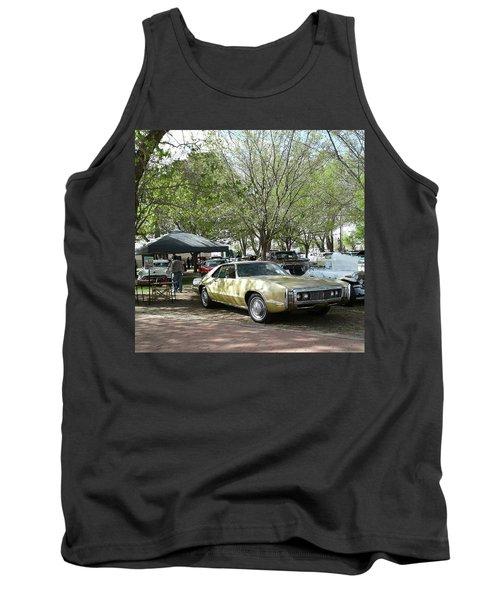 Car Show Saturday Tank Top by Jack Pumphrey