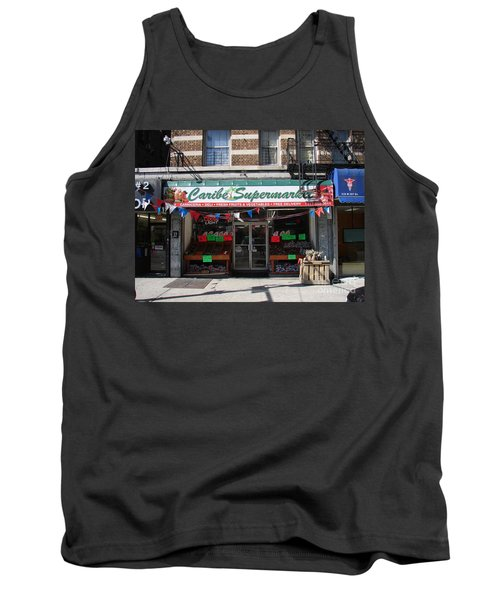 Tank Top featuring the photograph Caribe Supermarket by Cole Thompson