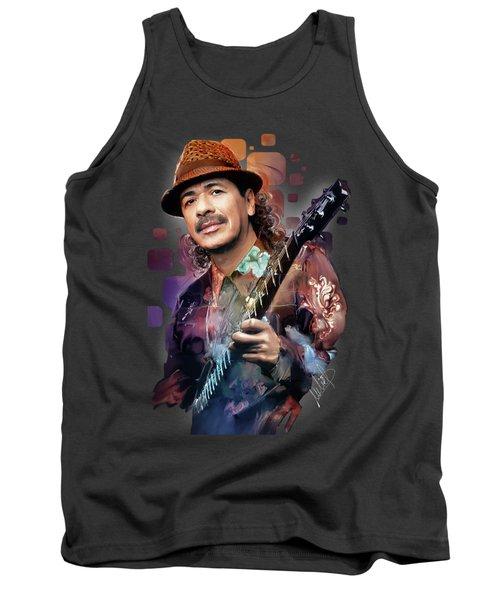 Carlos Santana Tank Top