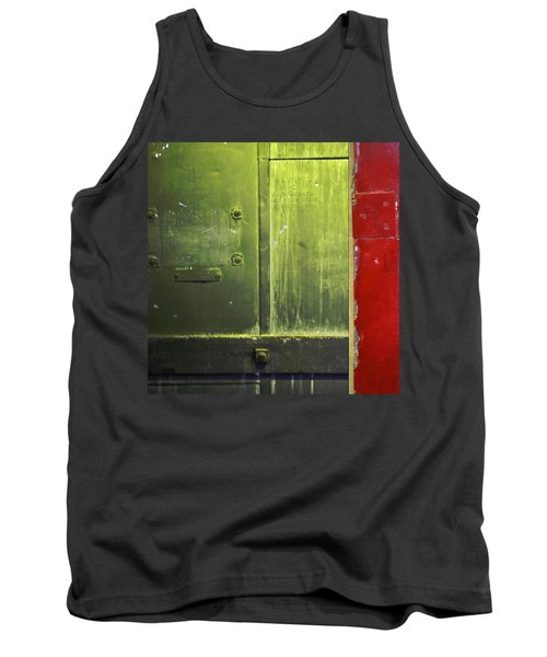 Carlton 6 - Firedoor Abstract Tank Top