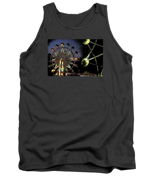 Tank Top featuring the photograph Carnival by Donna G  Smith