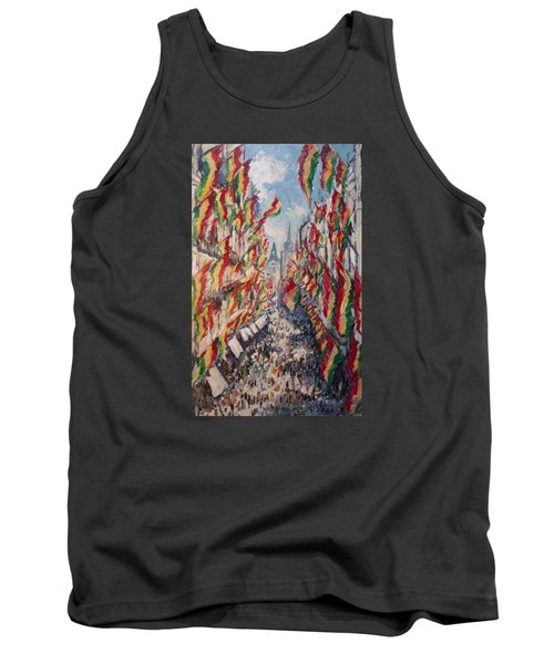 Carnival In The Grote Gracht In Maastricht Tank Top by Nop Briex