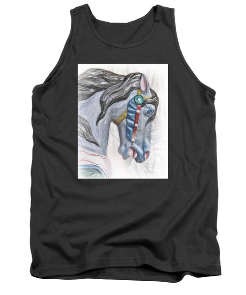 Carousel Star Tank Top by David and Carol Kelly