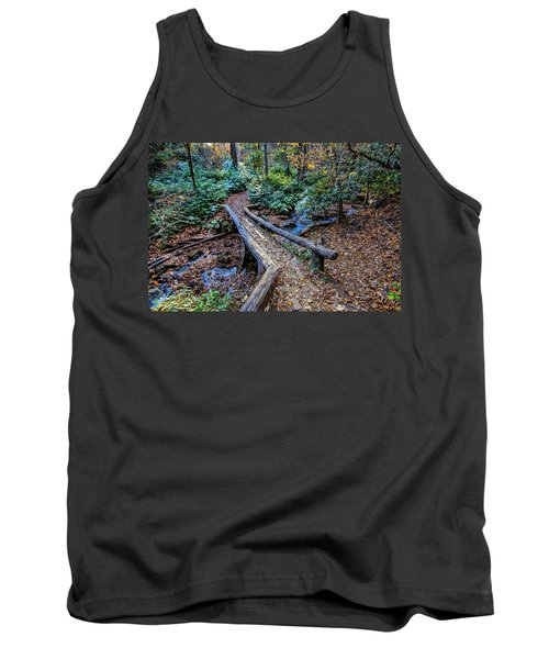 Carpet Of Leaves Tank Top by Dale R Carlson