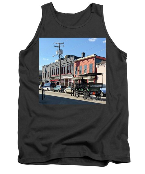 Carriage Tank Top