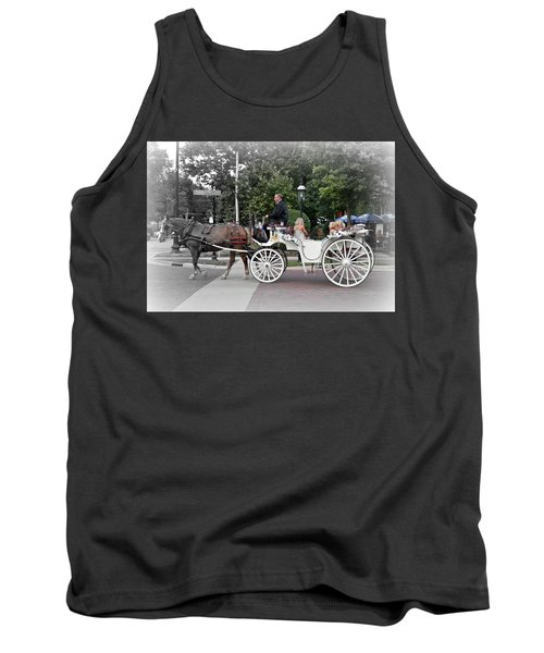 Carriage Ride Into Yesteryear Tank Top