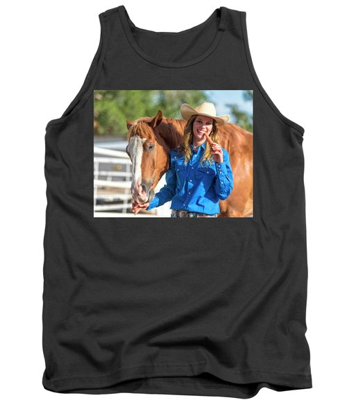 Carrots,cowgirls And Horses  Tank Top