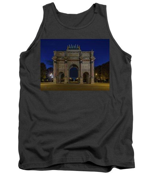 Carrousel Arc De Triomphe Tank Top