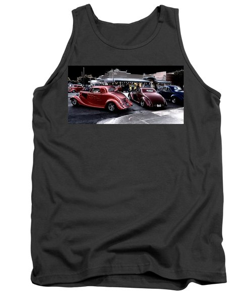 Cars On The Strip Tank Top