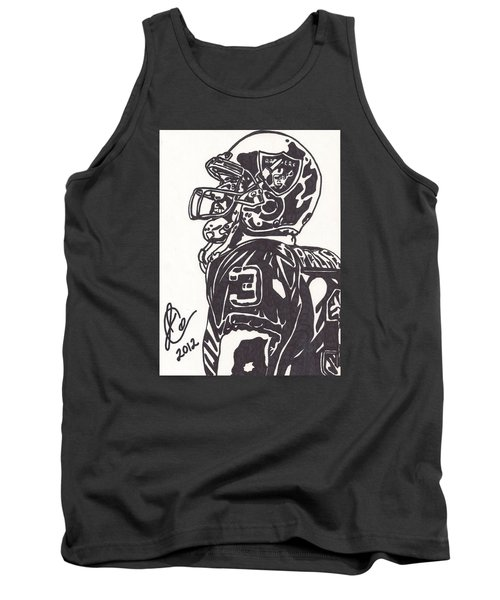 Tank Top featuring the drawing Carson Palmer 1 by Jeremiah Colley