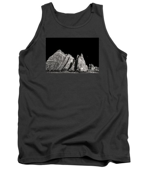 Tank Top featuring the digital art Carved By The Hands Of Ancient Gods by William Fields