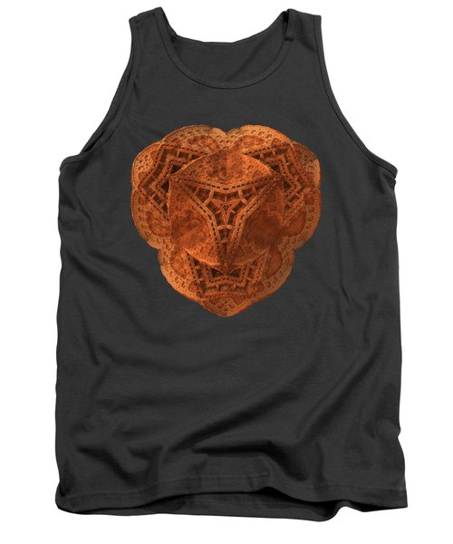 Tank Top featuring the digital art Carved by Lyle Hatch
