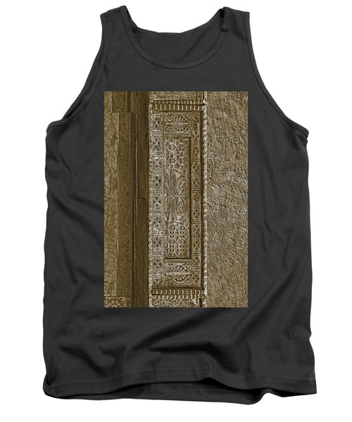Tank Top featuring the photograph Carving - 5 by Nikolyn McDonald