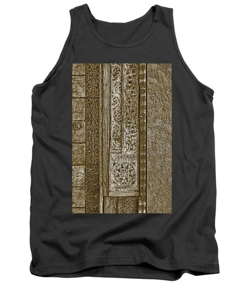 Tank Top featuring the photograph Carving - 6 by Nikolyn McDonald