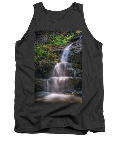 Tank Top featuring the photograph Cascade Falls, Saco, Maine by Rick Berk