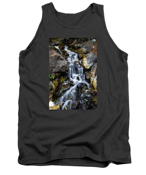 Tank Top featuring the photograph Cascade by Keith Hawley