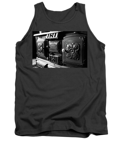 Tank Top featuring the photograph Cast Iron Character by Greg Fortier