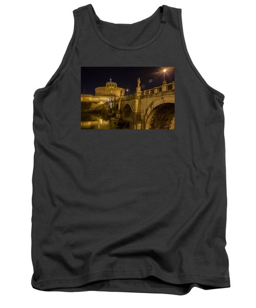 Tank Top featuring the photograph Castel Sant'angelo by Ed Cilley