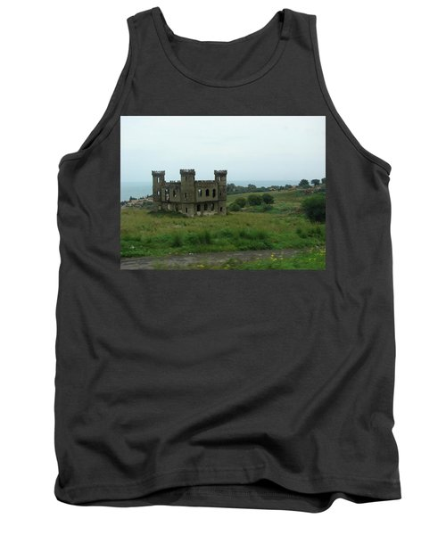 Castle Catania Sicily Tank Top