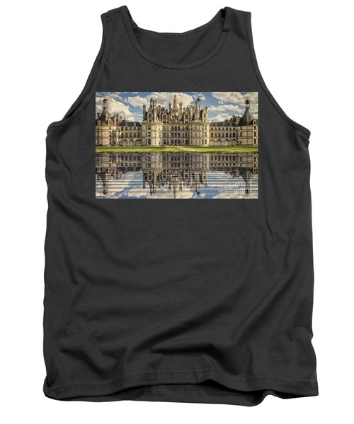 Tank Top featuring the photograph Castle Chambord by Heiko Koehrer-Wagner