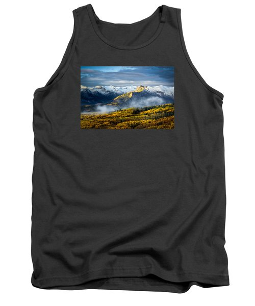 Castle In The Clouds Tank Top by Phyllis Peterson