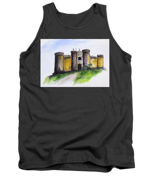 Castle Nuovo, Napoli Tank Top by Clyde J Kell