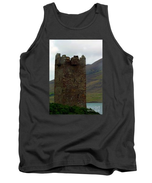 Castle Of The Pirate Queen Tank Top by Patricia Griffin Brett
