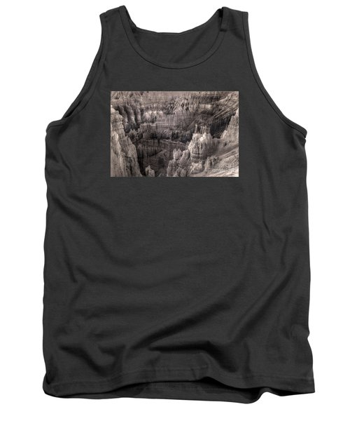 Tank Top featuring the digital art Castles Made Of Sand In The Hoodoos  by William Fields