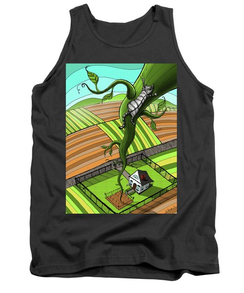 Cat And The Beanstalk Tank Top