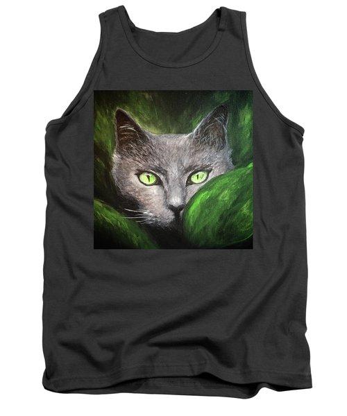 Cat Eyes Tank Top