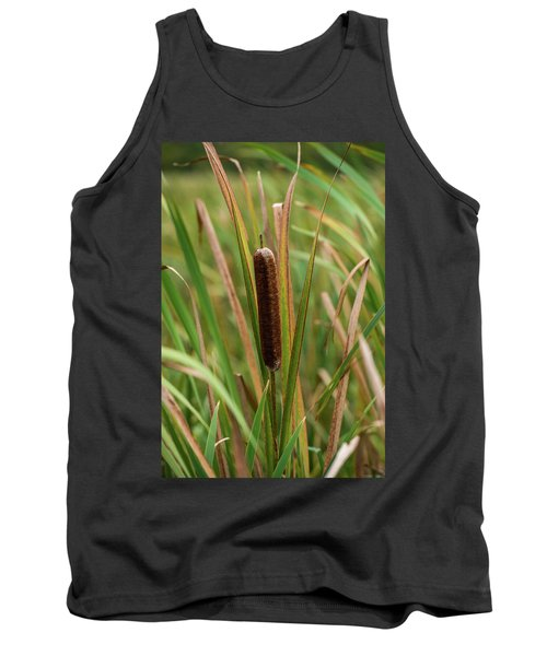 Tank Top featuring the photograph Cat Tail by Paul Freidlund