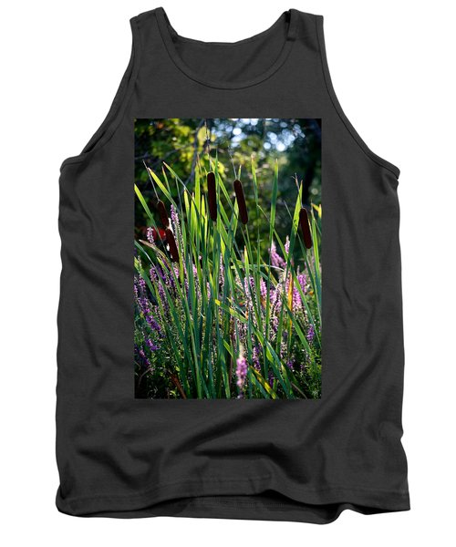Cat Tails In The Morning Tank Top