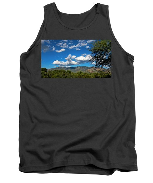 Tank Top featuring the photograph Catalina Mountains H48 by Mark Myhaver