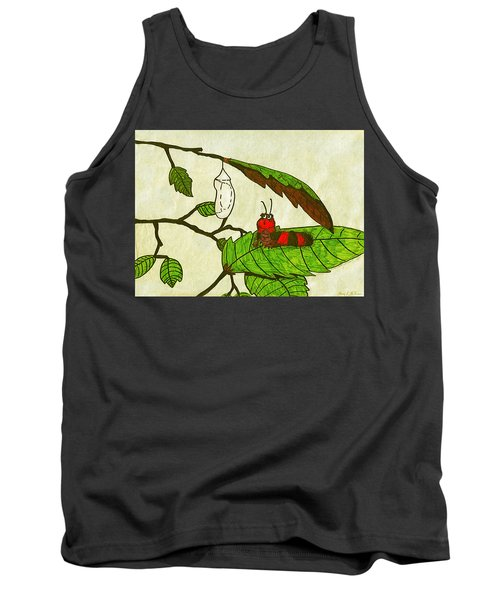 Caterpillar Whimsy Tank Top