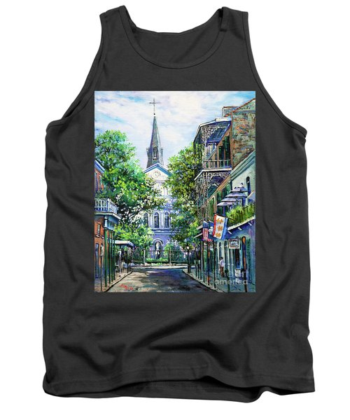 Cathedral At Orleans Tank Top