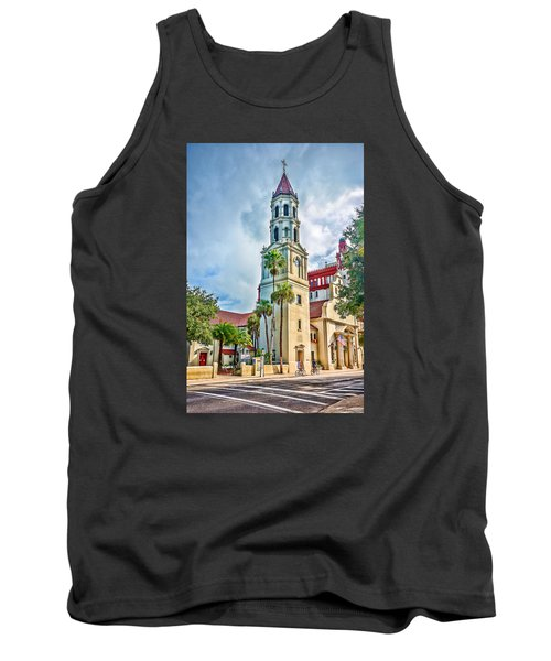 Tank Top featuring the photograph Cathedral Basilica by Anthony Baatz