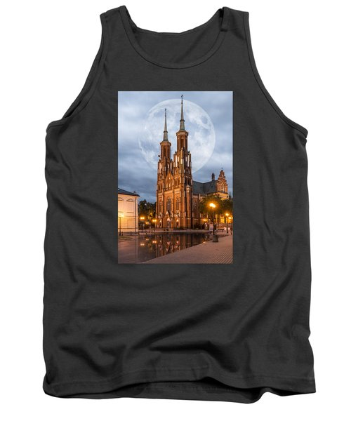 Tank Top featuring the photograph Cathedral by Jaroslaw Grudzinski