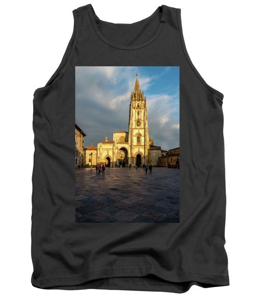 Cathedral Of Oviedo Tank Top
