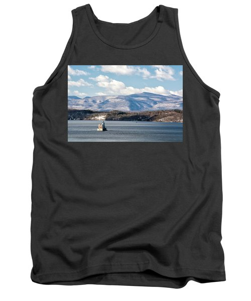 Catskill Mountains With Lighthouse Tank Top